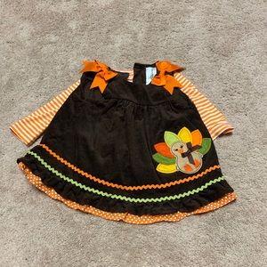 Baby Girl Thanksgiving Dress